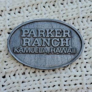 Other - Vintage Parker Ranch Kamuela Hawaii Belt Buckle